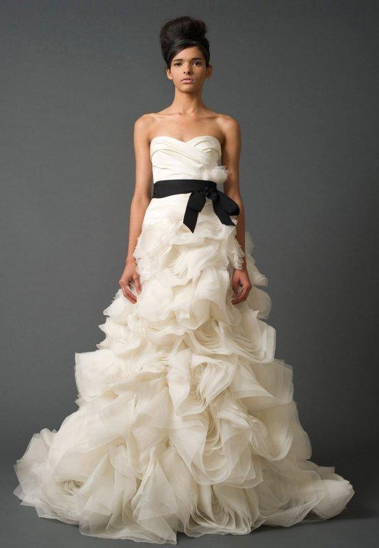Вера Вонг свадебное