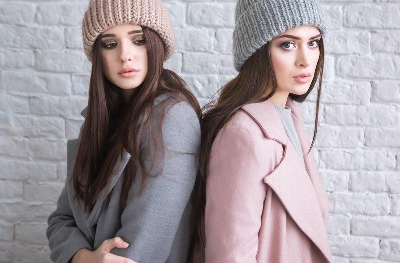 Модные оттенки в шапках