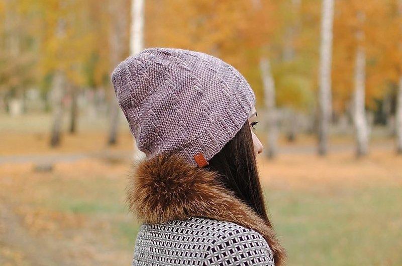Укороченная шапочка бини