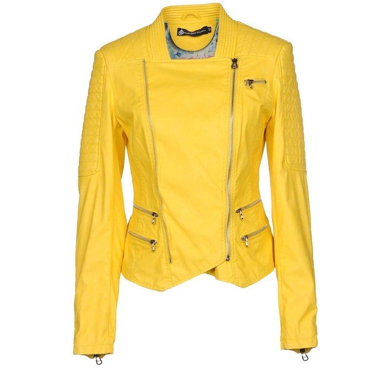 Цейлонски-желтая куртка