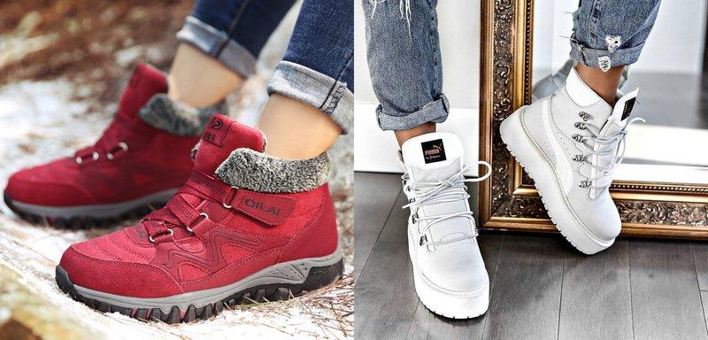 Стильные модели кроссовок осень-зима 2019-2020