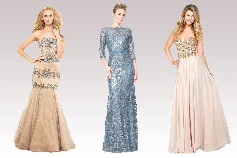 Вечерние платья в пастельных оттенках