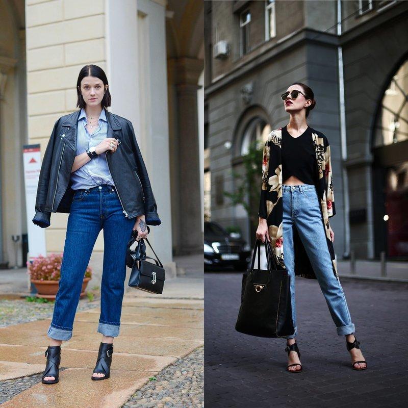 Стильные модели mom's jeans