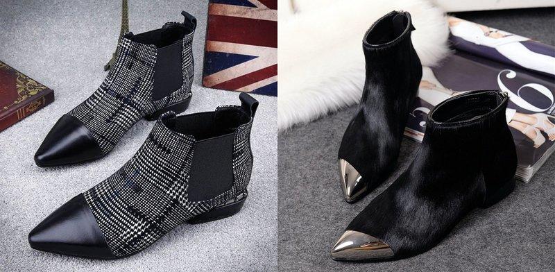 Обувь с острым носком: тренды осень-зима
