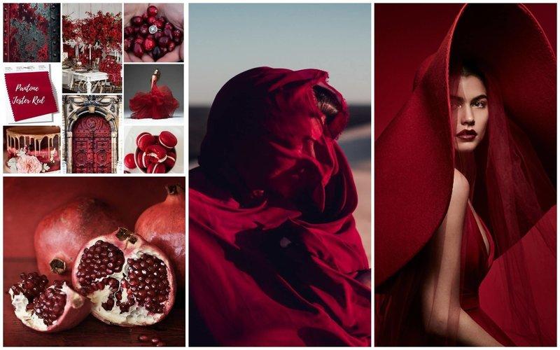 Цвет Jester Red