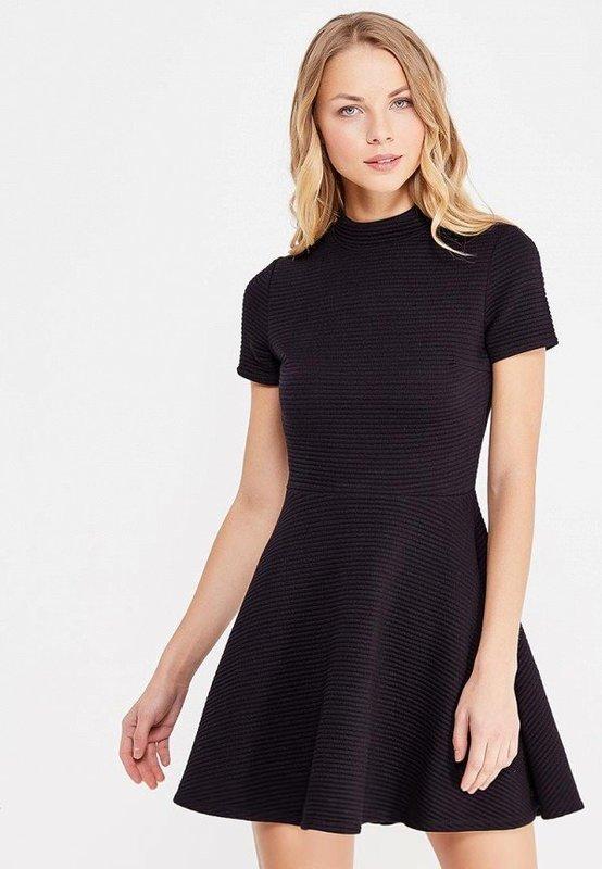 Короткое осеннее платье