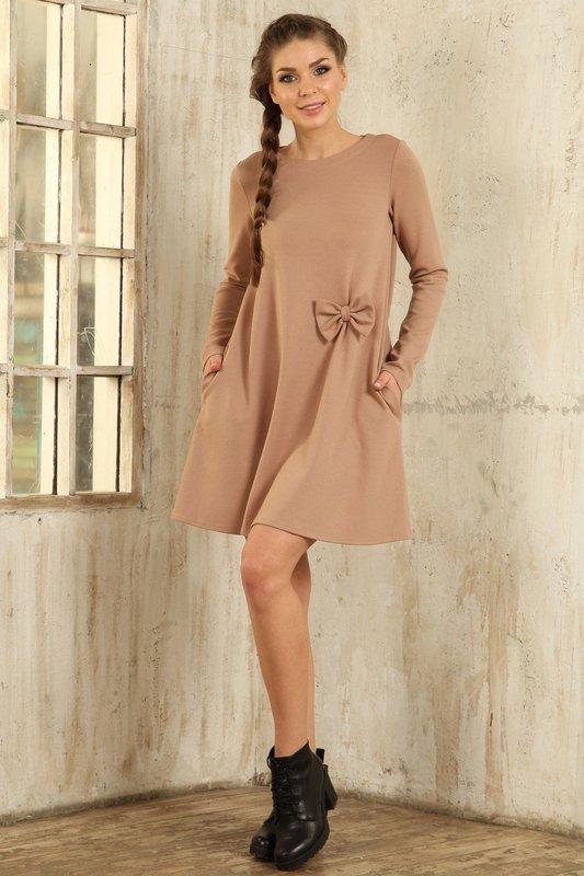 Красивое осеннее платье
