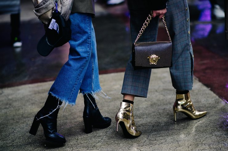 Модная женская обувь осень-зима
