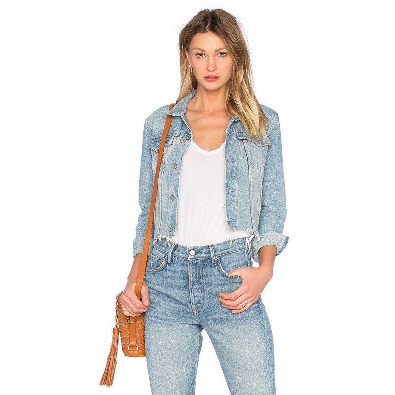 Летняя джинсовая куртка