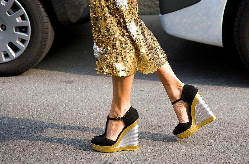 Интересная модель туфель