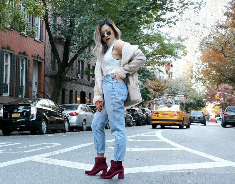 Mom's jeans: модные тенденции