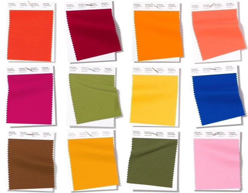 Модные цвета 2019 по версии Пантон