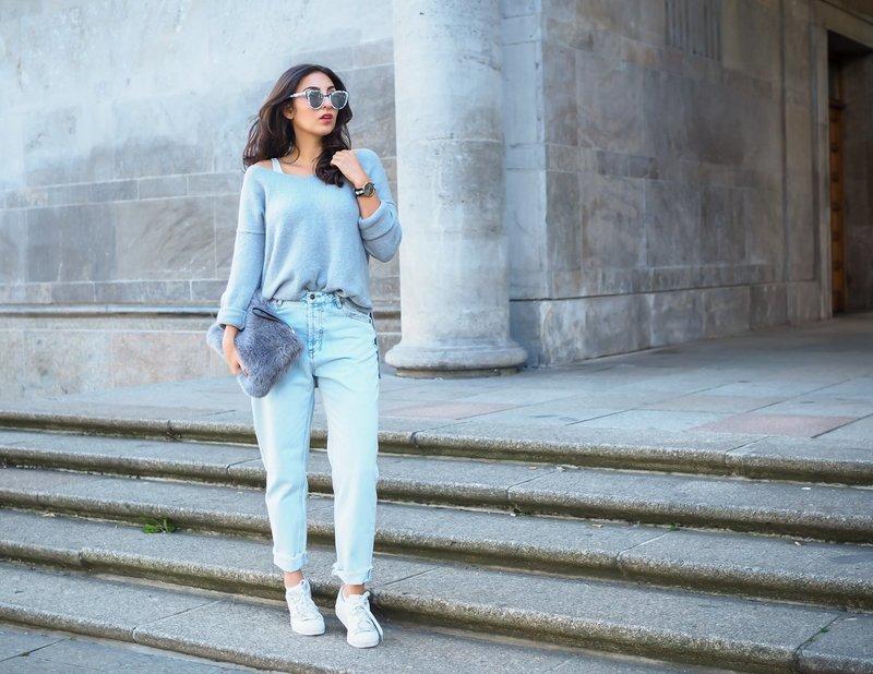 Модные модели mom's jeans