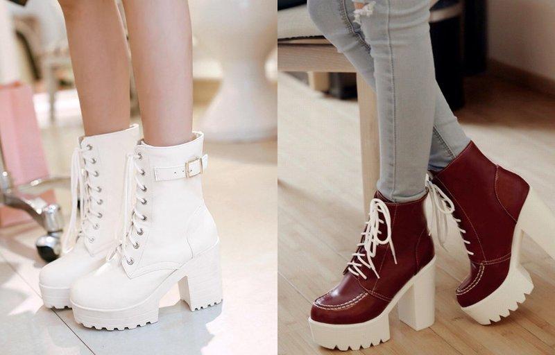Модные ботинки: новинки осень 2019