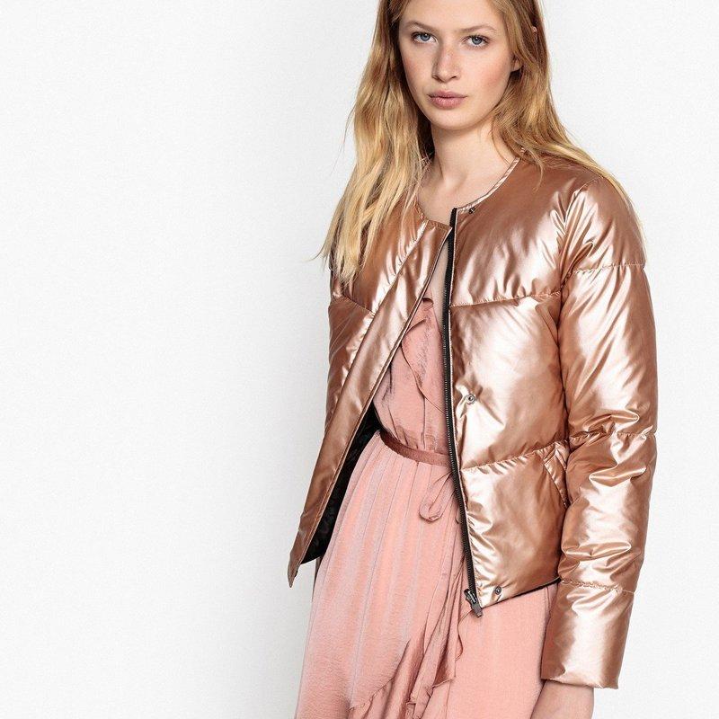 Стеганная куртка с платьем