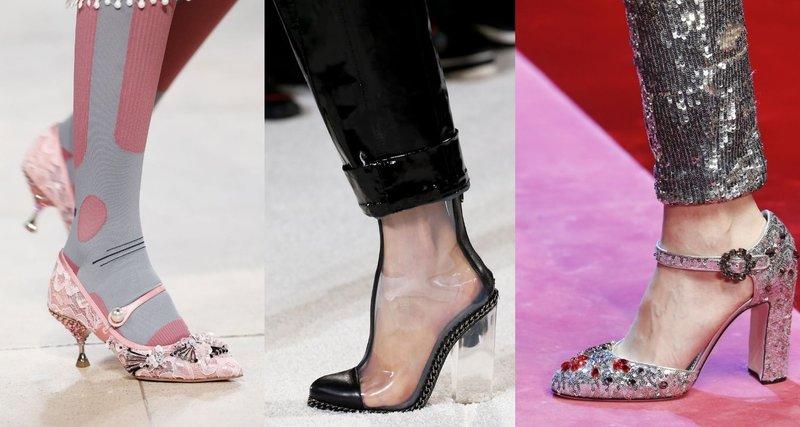 Туфли с показов мод