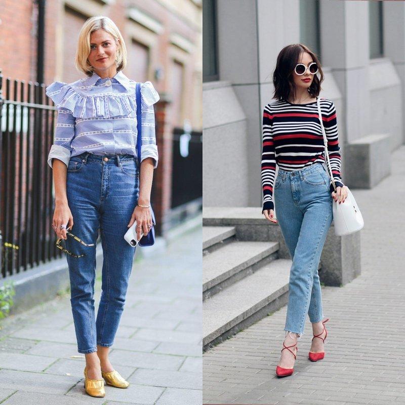 Модели mom's jeans