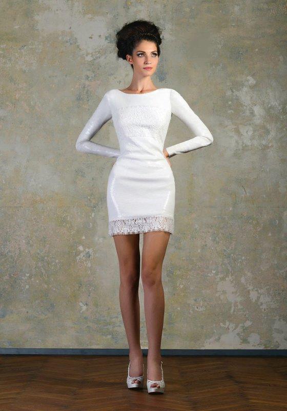 Ультра короткое платье