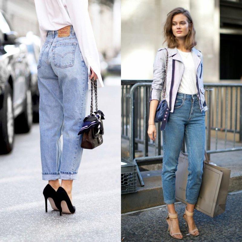 Mom's jeans: стильные образы