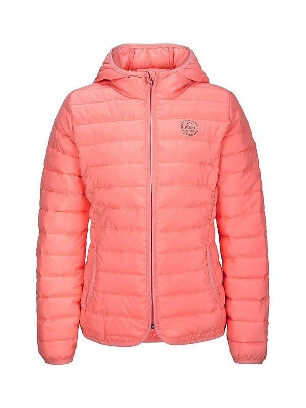 Весенняя коралловая куртка