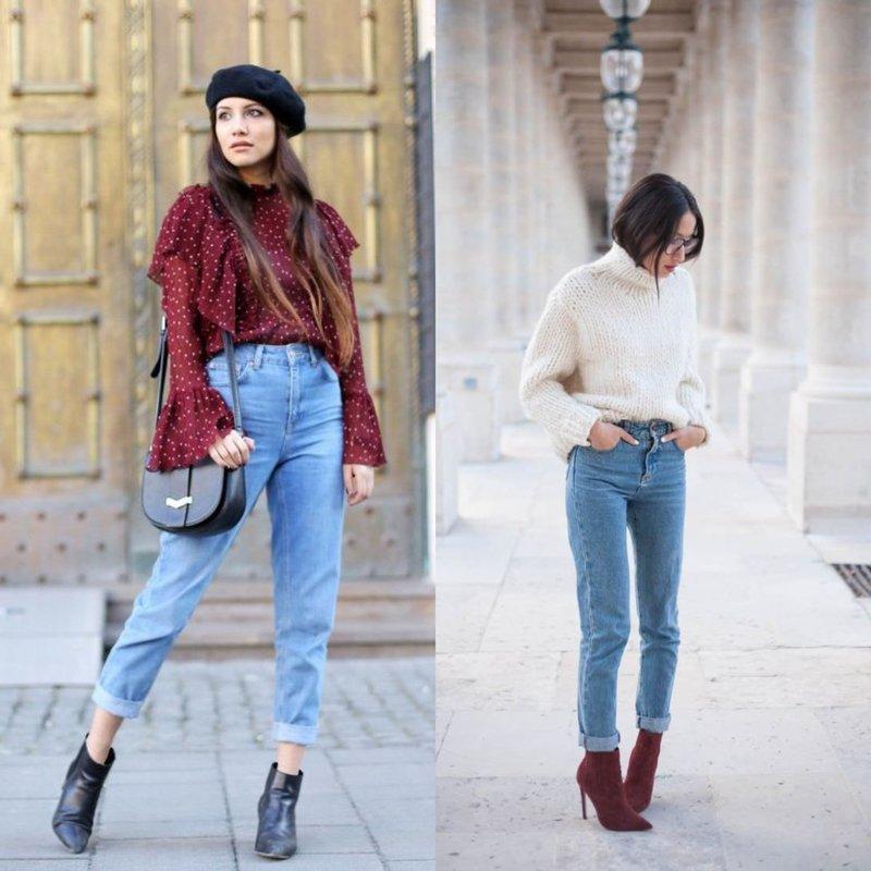 Модные образы в джинсах