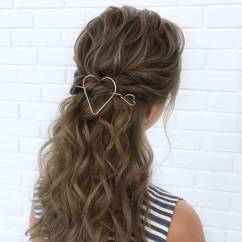 Мальвинка и минималистические украшения для волос