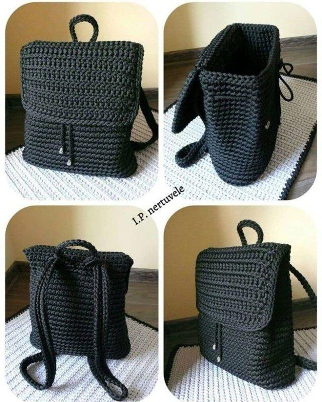 Как легко связать рюкзак