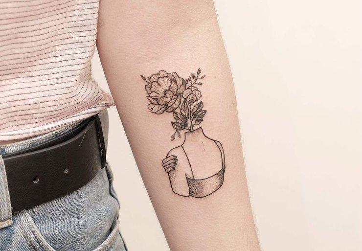 Современные модные татуировки