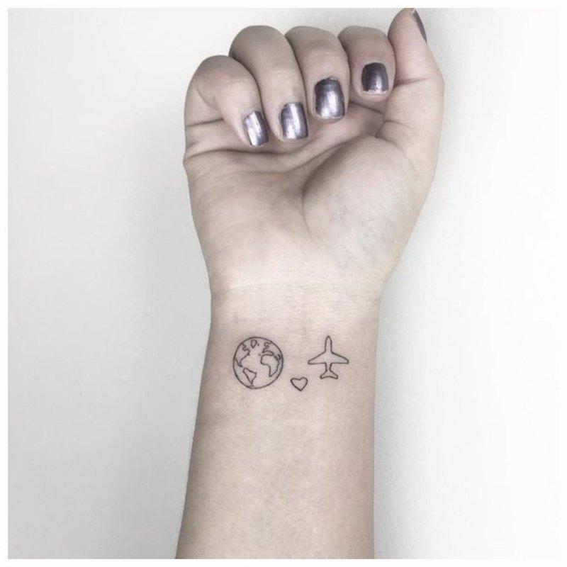 Оригинальное тату