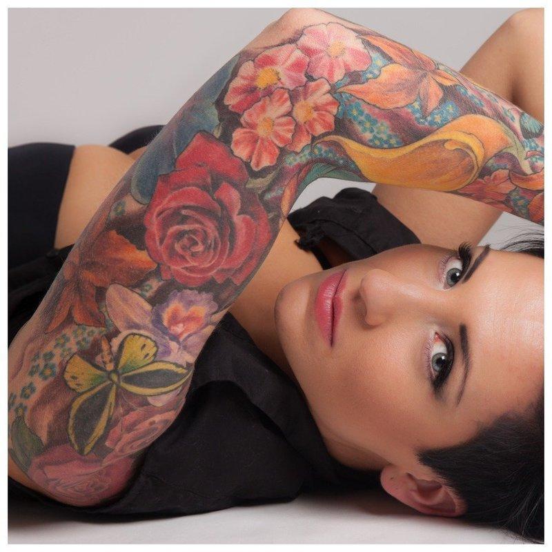 Цветочная тематика для тату