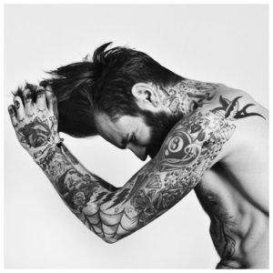 Татуировки в разных стилях