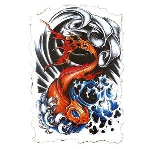 Эскиз тату - рыба