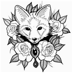 Цветочная и анималистическая тематика для тату