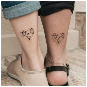 Любовное двойное тату