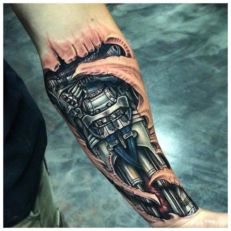 Биомеханика на руке