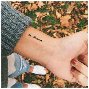 Оригинальная надпись для тату