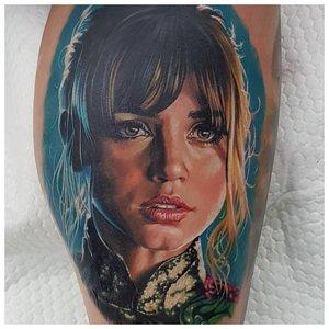Реалистичный тату-портрет