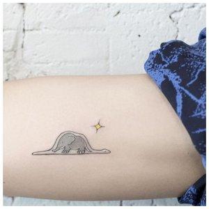 Слоник тату