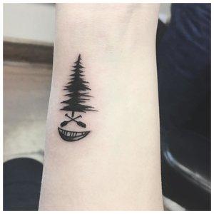 Пейзажная тематика для тату