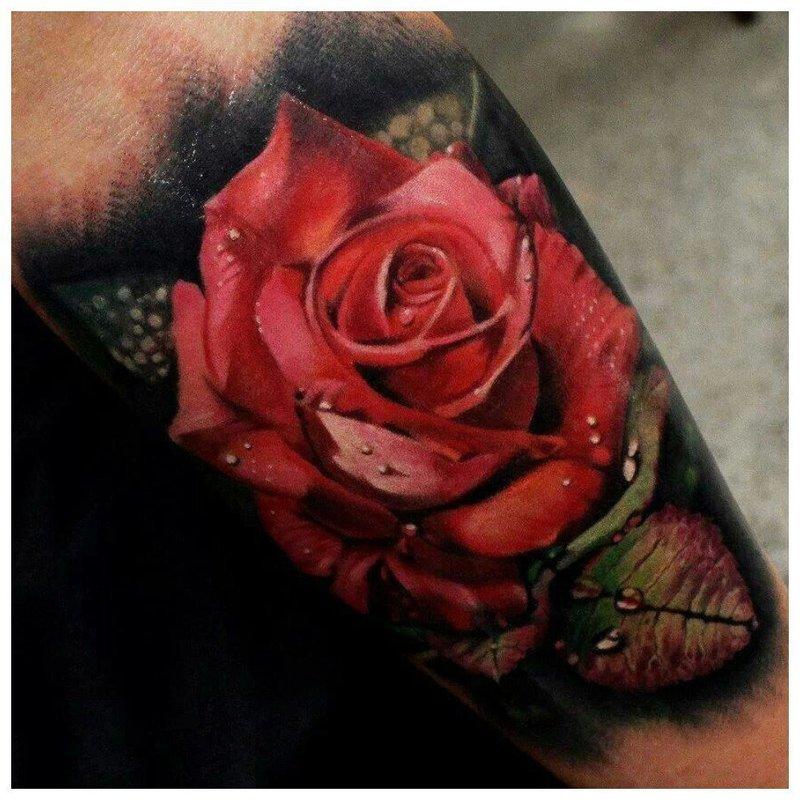 """Роза в стиле """"реализм"""""""