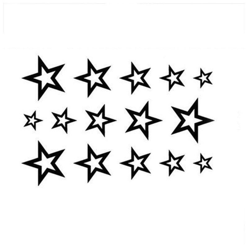 Звезды - эскиз тату