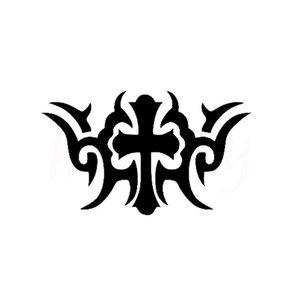 Крест - эскиз для тату