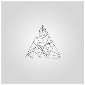 Треугольник - эскиз для тату