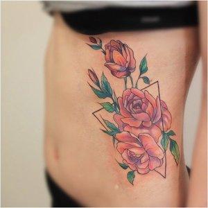 Розы на ребрах