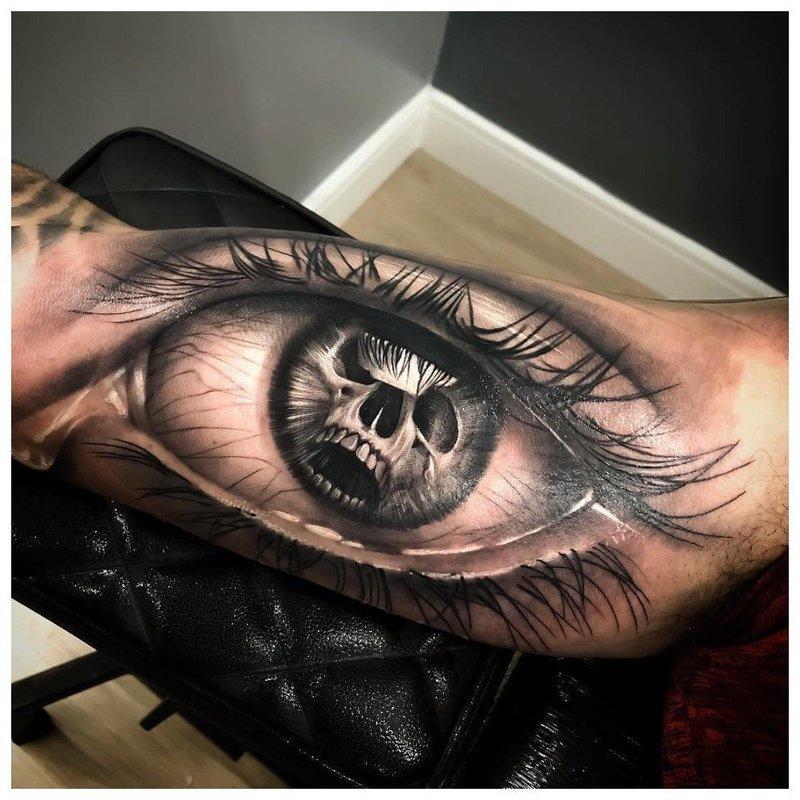 """Глаз в технике """"реализм"""""""