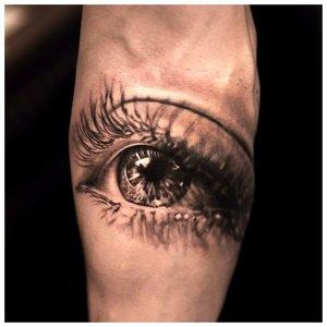 """Глаз в стиле """"реализм"""""""
