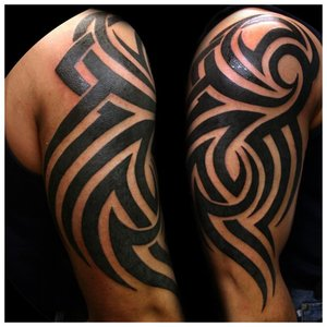 Трайбл-татуировка