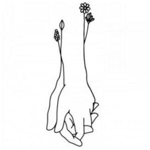Руки - эскиз для тату