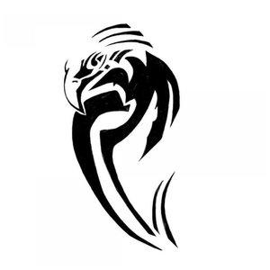 Мини-тату орел