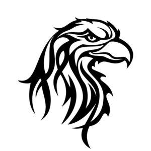 Эскиз орла для тату